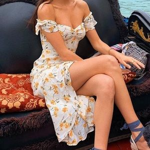 ISO: Reformation Midi Floral Dress